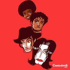 Camiseta 'Degradência' - Camiseta do Michael Jackson - Catalogo Camiseteria.com | Camisetas Camiseteria.com - Estampa, camiseta exclusiva. Faça a sua moda!