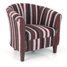 Image result for red and grey tub chair