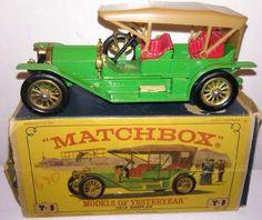 Vintage Matchbox Models of Yesteryear Y9 1912 Simplex Lesney 1:48 scale vintage picclick.com