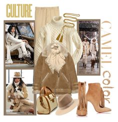 """Camel Color Culture-Ralph Lauren!"" by traceysfashionoutlook ❤ liked on Polyvore featuring Polo Ralph Lauren, J.Crew, Acne Studios, Isabel Marant, Zara, Christian Louboutin, rag & bone, Ciner, women's clothing and women"