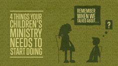 4 Things Children's Ministry Needs to Start Doing Church Ministry, Youth Ministry, Children Ministry, Ministry Ideas, Kids Church Rooms, Church Nursery, Children Church, Bible Lessons, Lessons For Kids