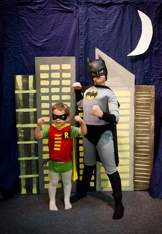 Easy No-Sew Superhero Capes and Costume - My Insanity