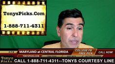 Maryland Terrapins vs. Central Florida Knights Pick Prediction College F...