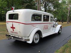 1932 Nash Eight Series 990 Ambulance
