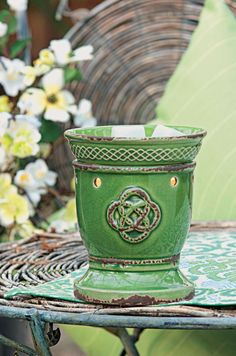 Celtic Knot Scentsy Wickless Candle Warmer is the perfect addition to any room! Ask me how to get one for your favorite Irish spot!