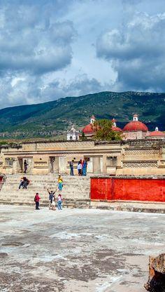 Las ruinas de Mitla, Oaxaca, México