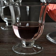Beautiful punchbowl glasses. #christmasglassware