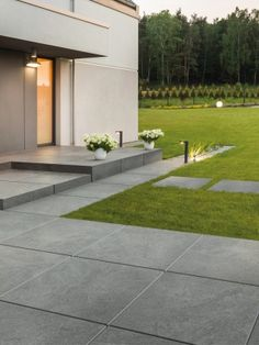 AntiSlip Porcelain Vitrified Paving Outdoor Patio Slabs 2 Colours - Vitrified Porcelain Paving slabs is an excellent combination of strength and technical consistency. Garden Slabs, Garden Tiles, Patio Slabs, Patio Tiles, Garden Paving, Outdoor Flooring, Concrete Patio, Outdoor Paving, Outdoor Tiles