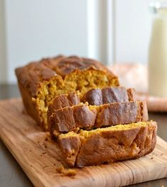 Gluten Free Quinoa Pumpkin Bread. Need to substitute something for the sugars