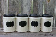 247 Mulberry Lane: Upcycled Coffee Containers