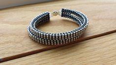 Double Tennis Bracelet - made by Jennifer Ehrichs, design by Jill Wiseman