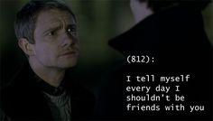 Sherlock and John. Relationship truth.