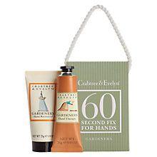 Sue - Buy Crabtree & Evelyn Gardener's Mini 60 Second Hand Cream Fix Kit, 50g Online at johnlewis.com