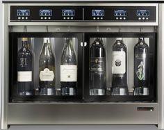 TRE+3 6-Bottle Wine Dispenser WineEmotion Wine Dispenser