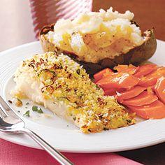 Crispy Baked Cod | MyRecipes.com