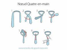 Comment Nouer Une Cravate : 6 Noeuds De Cravate Faciles | Remèdes de Grand-Mère