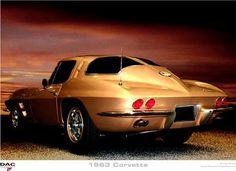 1963 Chevrolet Corvette split window.