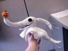 Crochet Nightmare Before Christmas Zero - Free Pattern