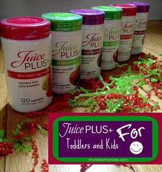 Juice Plus+ for Toddlers and Kids - Charlene Chronicles