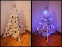 Diy-Navidad: El árbol de cartón reciclado de Erika : x4duros.com