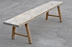 Constructed of reclaimed wood, our Cobbler's Bench is an awesome primitive piece. The wood comes from abandoned structures that we're able to salvage … Simple Furniture, Custom Furniture, Outdoor Furniture, Outdoor Decor, Antique Bench, Reclaimed Barn Wood, Take A Seat, Dining Bench, Solid Wood