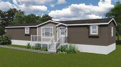 Harris Mini Home Floor Plan | Mini Homes | Home Designs Kent Homes, Single Wide Mobile Homes, Prefab, Small Houses, House Floor Plans, Furniture Decor, Little Houses, House Layouts, Home Plans