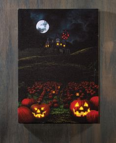 Halloween Lighted Picture click on the image for more awesome lighted picture designs