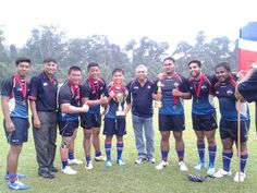 2014 Agong's Cup Champions - Sportstec Family Sabah Rugby Team. Malaysia