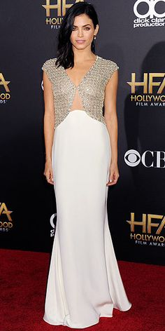 Reem Acra gown   Jenna Dewan-Tatum