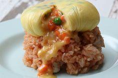 kusurama omelette