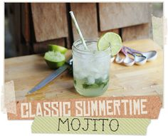 Delightfully Tacky: Classic Summertime Mojito