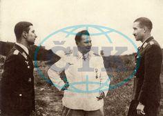Werner Molders, Hermann Goering and Adolf Galland