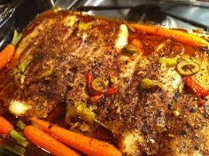 Easy and quick Basa fish fillets that are oven baked. Made using fish, olive oil, olives and paprika.