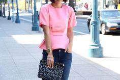 pink & peplum