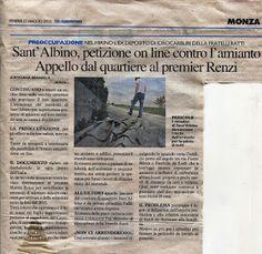 COMITATO DI QUARTIERE S.ALBINO (MONZA): AMIANTO ( E NON SOLO) A S.ALBINO
