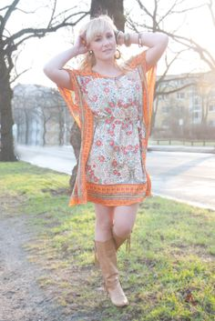 scarf dress. I want to try and make one of these one day.