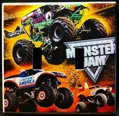 19 Best Monster Truck Room Ideas Images On Pinterest | Monster Trucks, Truck  Room And Bedroom Ideas
