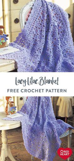 Crochet Square Blanket, Crochet Baby Blanket Free Pattern, Baby Afghan Crochet, Newborn Crochet, Afghan Crochet Patterns, Crochet Blankets, Crochet Bedspread, Crochet Stitches, Form Crochet