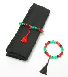Beaded Bracelet or Napkin Ring | #kwanzaa #unity #decor #holiday