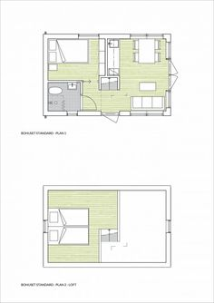Small Tiny House, Tiny House Cabin, Small House Design, Small House Plans, House Floor Plans, Sims House Design, Village House Design, Backyard Guest Houses, Style At Home