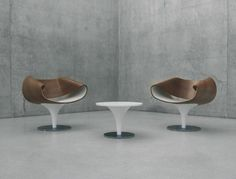 Designer Lounge Chairs - modern swivel chair by Zuco | Captivatist