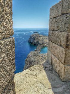 Acropolis of #Lindos, #Rhodes #Island, Greece