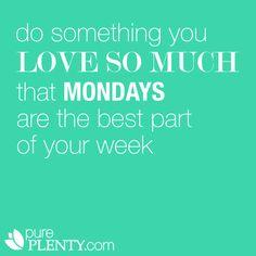 Love Mondays. #careerdesign