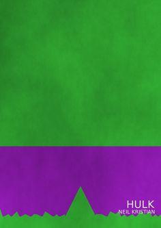 The Green Monster by Neil Kristian by neilkristian on DeviantArt Minimal Movie Posters, Minimal Poster, Hulk Movie, Comic Art, Comic Books, Marvel Art, Marvel Comics, Green Monsters, Incredible Hulk