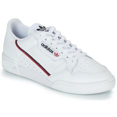 official photos 9654e c7c56 Adidas Originals CONTINENTAL 80 Blanc Baskets Basses pas cher - Baskets  Femme Spartoo
