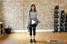Todays Video: Intro to Resistance Bands sparkpeople-fitness Best Resistance Bands, Resistance Band Exercises, Arm Workout With Bands, Band Workouts, Exercise Bands, Thigh Toner, Stretch Band, Spark People, Fitness Diet