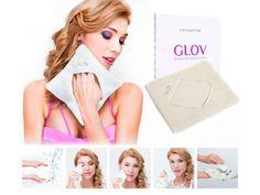 Guanto struccante Glov Comfort Hydro Maquillage: rimuove perfettamente ogni traccia di impurità e cosmesi senza bisogno di detergenti!
