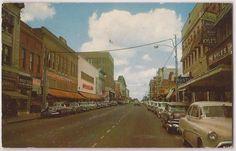 Travis Street - circa 40/50's @shermantexas @spadiva