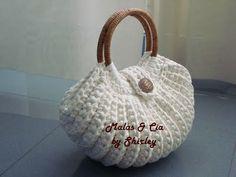 Crochet Wallet, Bag Crochet, Crochet Handbags, Crochet Purses, Crochet Stitches, Crochet Mandala Pattern, Crochet Patterns, Casual Bags, Knitted Bags