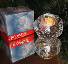 Kosta-Boda-Snowball-Glass-....Would love a couple more!